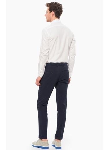 NetWork Slim Fit Uzun Kollu Gömlek Beyaz